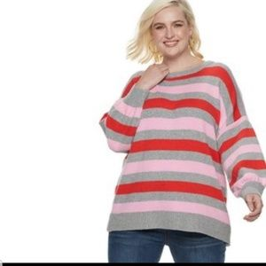 NWT popsugar sweater